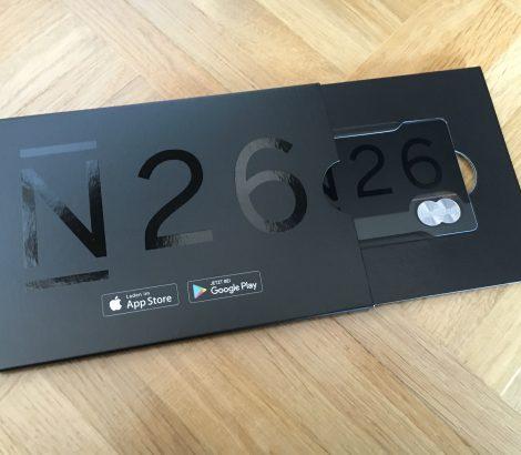 prepaid creditcard kopen n26 black