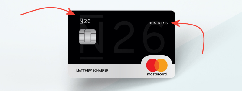 n26 business account