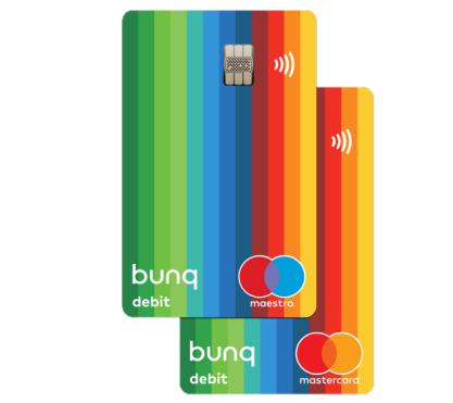 bunq cards