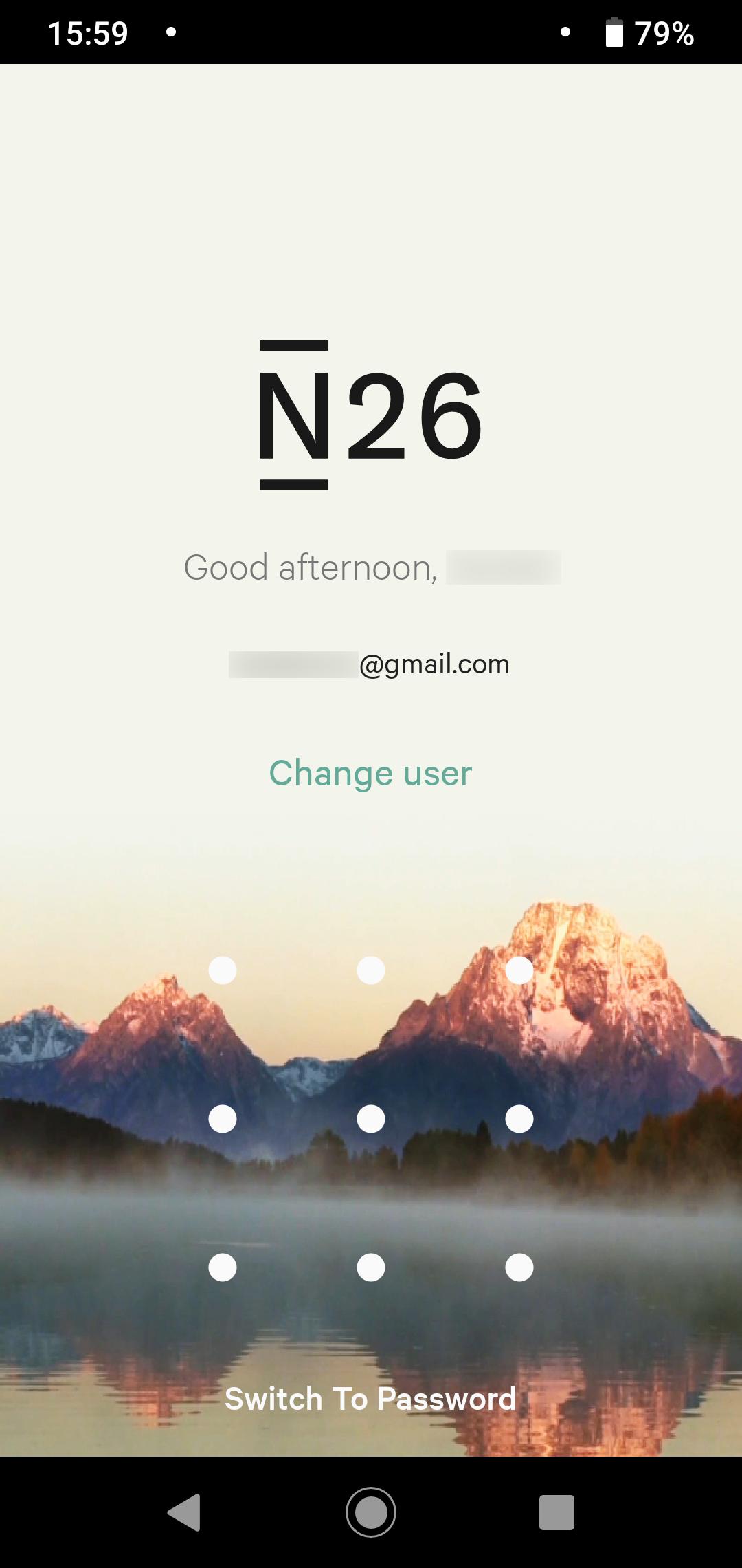n26 app login
