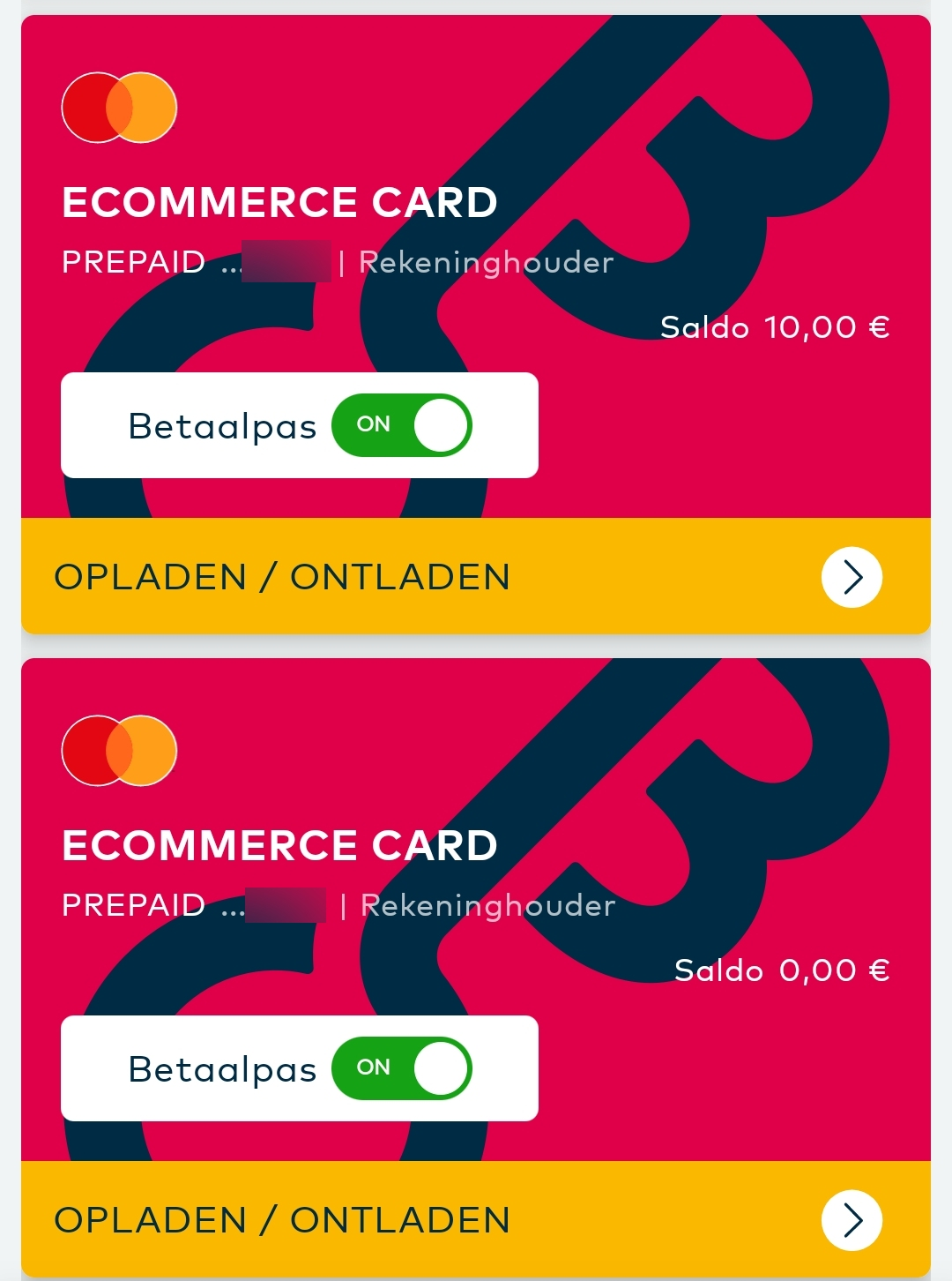 openbank ecommerce card