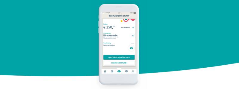 Knab betaalverzoek geintroduceerd, vooral handig voor ondernemers