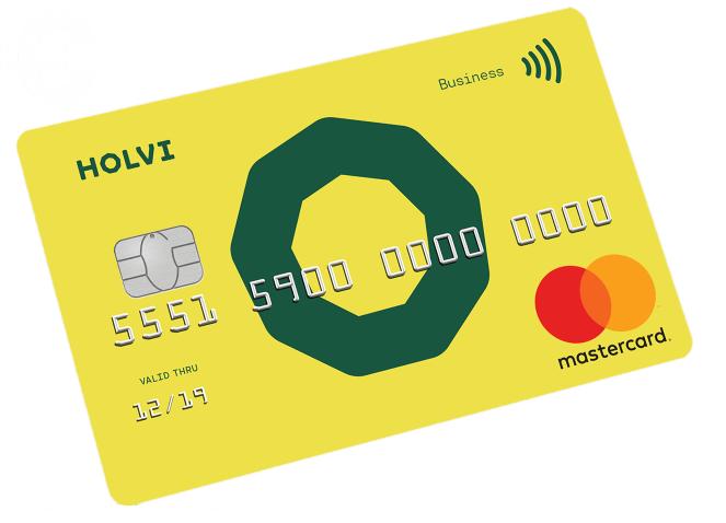 holvi prepaid creditcard aanvragen