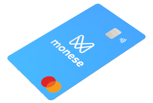 monese prepaid creditcard