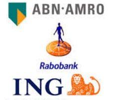 ABN Rabobank ING logo