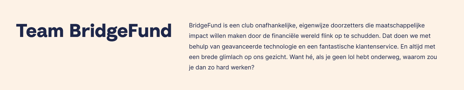 over bridgefund